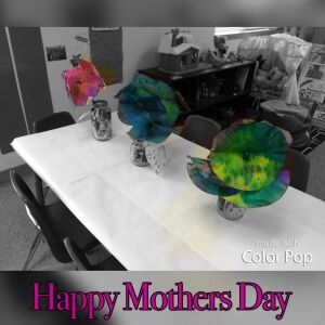 Mothers Day Coffee filter flowers