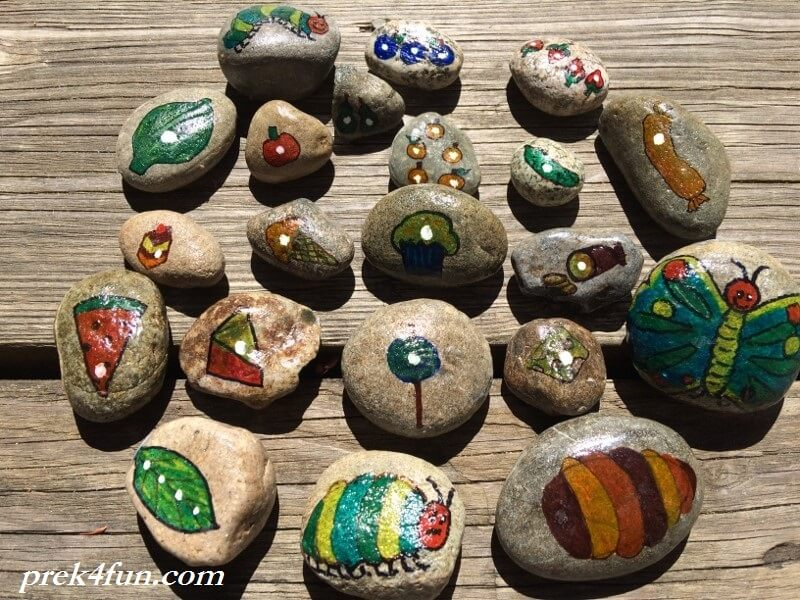 The Very Hungry Caterpillar Story Stones 2