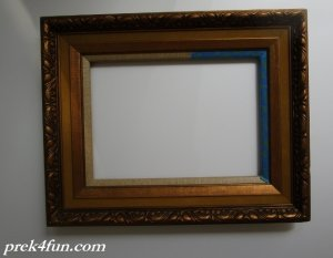 Old Frame for Easel Inspiration