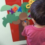 Magnetic Letter Chicka Boom Boom Tree