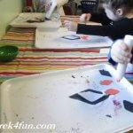 Shape Penguins fun craft